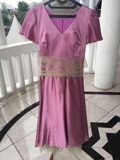 Pink fuschia cocktail dress