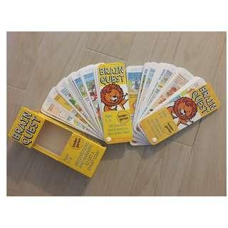Brain Quest Cards (for 5-6 years old)