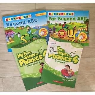 Letterland ABC and Phonics Book Set (with Audio CD)