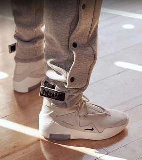 US 9 Nike fear of god fog 1 light bone white