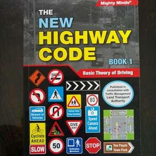 BTT Test Theory Book The New Highway Code Book 1