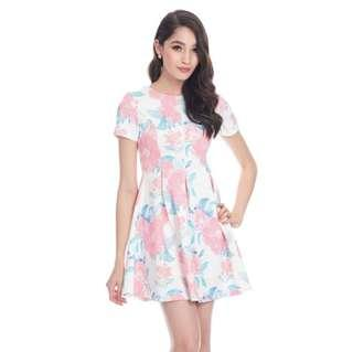 *CNY 50% OFF SALE* BNWT The Closet Lover Cherise Florals Skater Dress