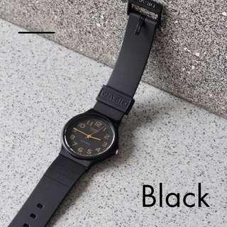 🚚 The Black Casio Analog Watch