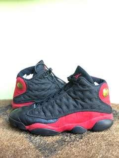 Nike Men's Air Jordan 13 XIII Retro Black/Red BRED 2013 Basketball Shoes Size 10.5