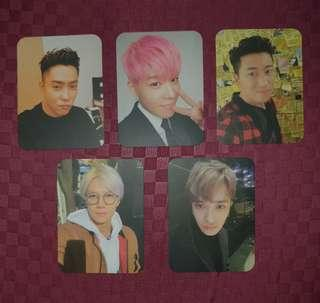 2016 SECHSKIES Yellow Note concert official photocards