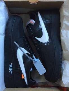 Nike x offwhite Air Force 1 black US9