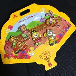 迪士尼襟章 Disney pin duffy stellalou cookie Gelatoni Shelliemay