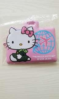 Hello Kitty Eva Air Luggage Tag
