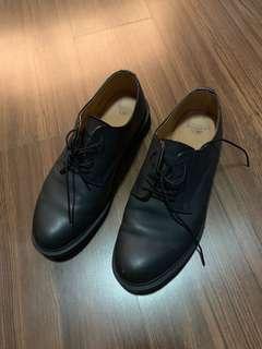 Lightly Worn Dr Martens Black Leather Lace Shoes Dress Formal US 12 UK 11 EU 46