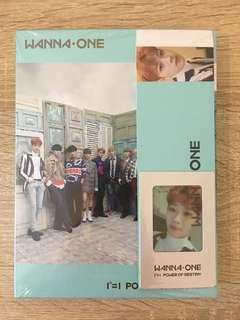 [CLEARANCE] WANNA ONE POWER OF DESTINY ALBUM + PC