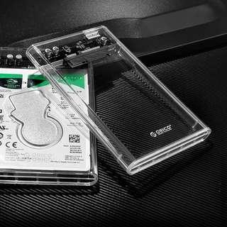 Translucent SSD/HD case (2.5 inch, SATA)