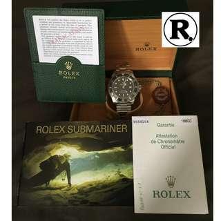Rolex Sea Dweller 4000 Ref 16600