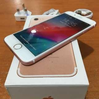 iPhone 7 32gb Rosegold Ex Inter ori bisa Tt