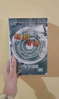 The Fate of Ten (I Am Number Four Series) by Pittacus Lore