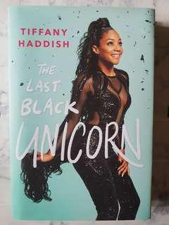 🚚 The Last Black Unicorn by Tiffany Haddish (Hardcover)