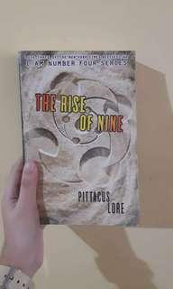 The Rise of Nine (I am Number Four series) by Pittacus Lore
