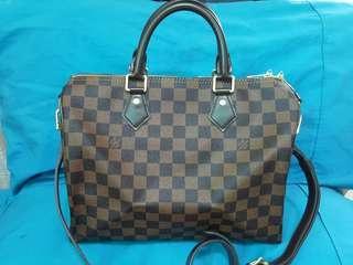 Authentic Louis Vuitton Speedy Bandouliere 30