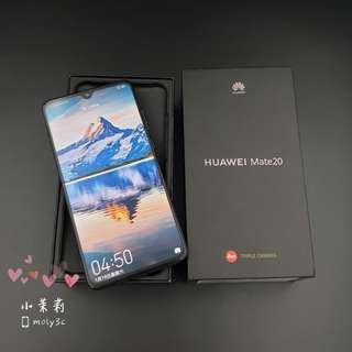 台灣公司貨 華為Huawe Mate 20 6G/128G萊卡認證三鏡頭手機Leica 6.53吋 L29