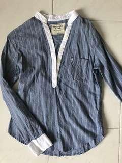 Abercrombie Blue Button-down Shirt