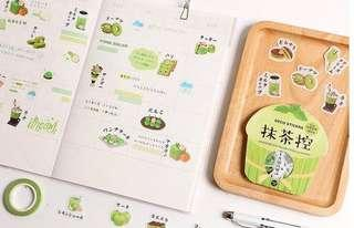 (Instock) Matcha and Beverages Stickers