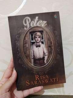 Novel Peter Risa Saraswati