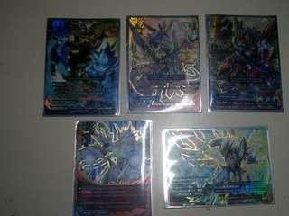 Buddyfight Gargantua Dragon Legion Mode secret set