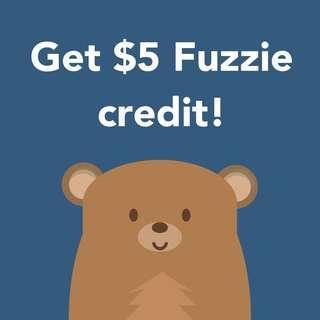 Fuzzie $5 code!