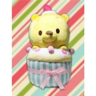 [INSTOCKS] TOREBA Winnie the Pooh - Cupcake Plushie