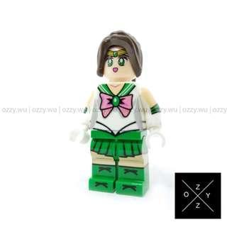 Lego Compatible Minifigures : Sailor Jupiter