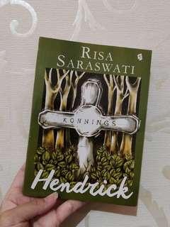 Novel Hendrick Risa Saraswati