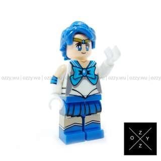 Lego CompatibleMinifigures : Sailor Mercury