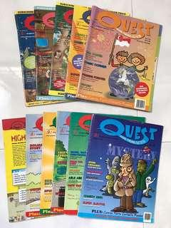 Quest( where finding out is fun ) magazine