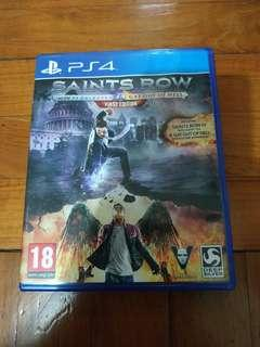 PS4 Saints Row 4 IV