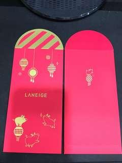 Laneige 2019Red Packets pig year 4pink 4red