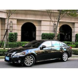 稀有車種 2012年 凌志GS250 一手車 原版件 豪華版 電動天窗 HID感應式頭燈 LED日行燈