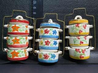 Miniature Tiffin Ceramic