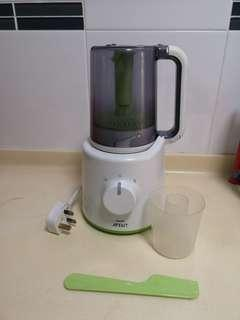 Philips Avent Combined Steamer And Blender SCF870