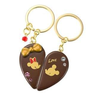 🌟日本Disney store直送🌟米奇 Mickey  米妮 Minnie  2019年情人節系列 公仔 掛飾 鎖鑰扣
