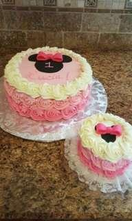 Minnie Mouse Rosette