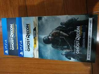 PS4 Ghost Recon *Code*