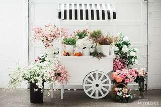 Floral Bar | Flower Bar | Wedding Gift | Bridal Shower Idea