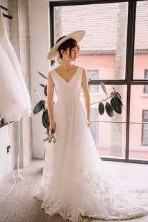 Wedding Dress/ wedding gown/ photoshoot