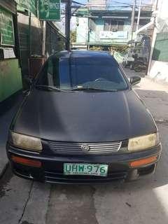 Mazda 323 Black