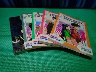 Wattpad Books (PHP70 Each)