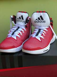 Adidas D Rose 6 Boost Red White Black Basketball Shoes Size 10 with Box
