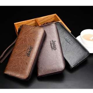 Wallet / Long Wallet / Card holder / Phone holder Jeep