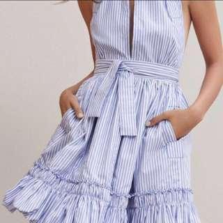 Bare back dress