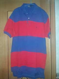 Polo shirt ( store long time cause stained)