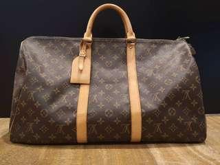 Authentic Louis Vuitton Monogram Keepall 45