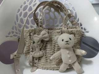 Authentic Samantha Thavasa Shoulder & Sling Bag